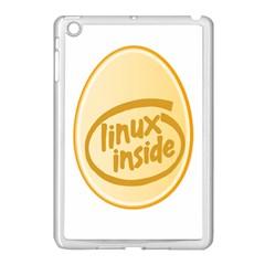 Linux Inside Egg Apple Ipad Mini Case (white) by youshidesign