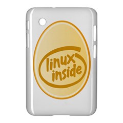 Linux Inside Egg Samsung Galaxy Tab 2 (7 ) P3100 Hardshell Case  by youshidesign