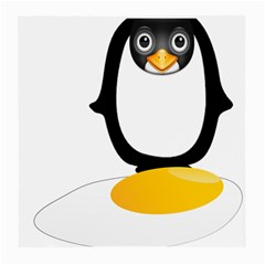Linux Tux Pengion Oops Glasses Cloth (medium) by youshidesign