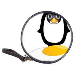 Linux Tux Pengion Oops Cd Wallet by youshidesign