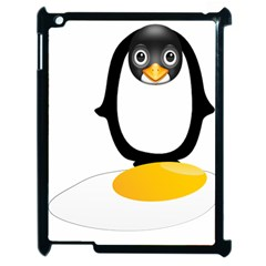 Linux Tux Pengion Oops Apple Ipad 2 Case (black) by youshidesign