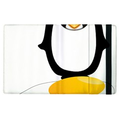 Linux Tux Pengion Oops Apple Ipad 3/4 Flip Case by youshidesign