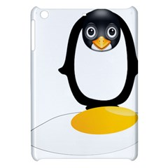 Linux Tux Pengion Oops Apple Ipad Mini Hardshell Case by youshidesign