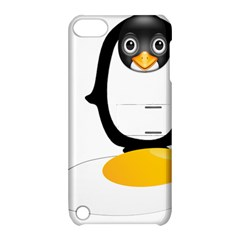 Linux Tux Pengion Oops Apple iPod Touch 5 Hardshell Case with Stand