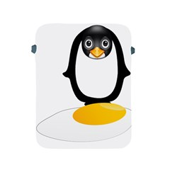 Linux Tux Pengion Oops Apple Ipad Protective Sleeve by youshidesign