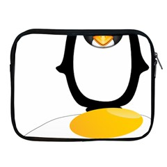 Linux Tux Pengion Oops Apple Ipad Zippered Sleeve by youshidesign