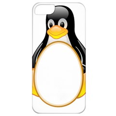 Linux Tux Penguins Apple Iphone 5 Classic Hardshell Case by youshidesign