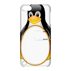 Linux Tux Penguins Apple Ipod Touch 5 Hardshell Case With Stand by youshidesign
