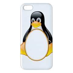 Linux Tux Penguins Iphone 5 Premium Hardshell Case by youshidesign