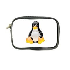 Crystal Linux Tux Penguin  Coin Purse by youshidesign