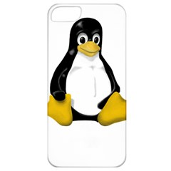 Linux Tux Contra Sit Apple Iphone 5 Classic Hardshell Case by youshidesign