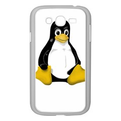 Linux Tux Contra Sit Samsung Galaxy Grand Duos I9082 Case (white) by youshidesign