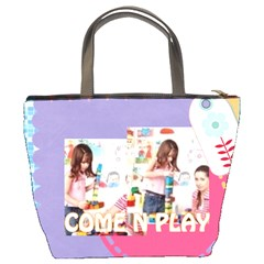 Kids By Kids   Bucket Bag   I6u9zdn74ly4   Www Artscow Com Back