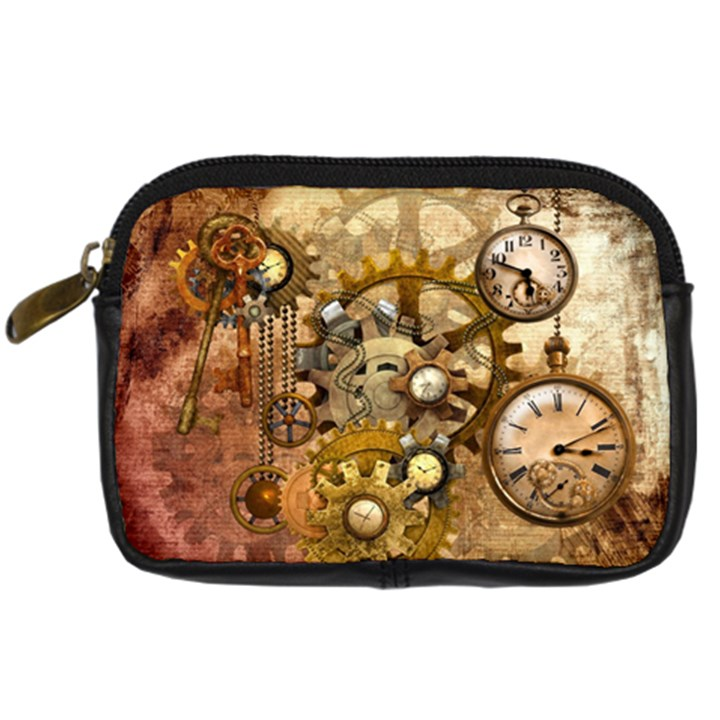 Steampunk Digital Camera Leather Case