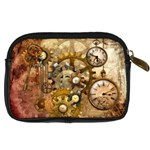 Steampunk Digital Camera Leather Case Back