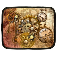 Steampunk Netbook Sleeve (xl) by Ancello