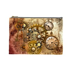 Steampunk Cosmetic Bag (large) by Ancello