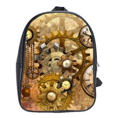 Steampunk School Bag (Large) by Ancello