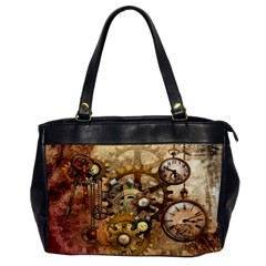 Steampunk Oversize Office Handbag (One Side) by Ancello