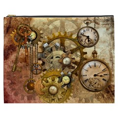 Steampunk Cosmetic Bag (XXXL) by Ancello