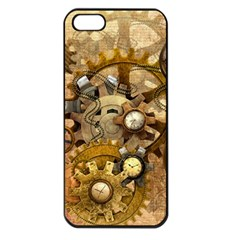 Steampunk Apple Iphone 5 Seamless Case (black) by Ancello