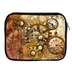 Steampunk Apple Ipad Zippered Sleeve by Ancello