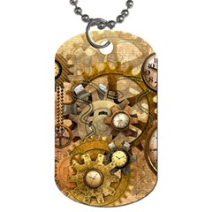 Steampunk Dog Tag (two Sided)