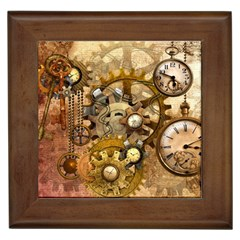 Steampunk Framed Ceramic Tile by Ancello