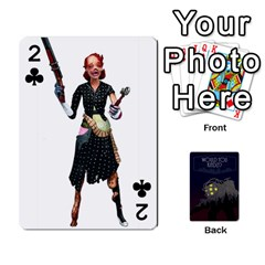 Bioshock By Ryan Rouse   Playing Cards 54 Designs   Cwgpfrzvwli0   Www Artscow Com Front - Club2