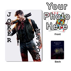 Bioshock By Ryan Rouse   Playing Cards 54 Designs   Cwgpfrzvwli0   Www Artscow Com Front - Joker1