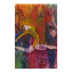 Colorful Dancer Gymnast  Shower Curtain 48  X 72  (small) by Contest1823010