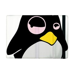 Lazy Linux Tux Penguin Apple Ipad Mini Flip Case by youshidesign