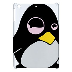 Lazy Linux Tux Penguin Apple Ipad Mini Hardshell Case by youshidesign