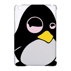 Lazy Linux Tux Penguin Apple Ipad Mini Hardshell Case (compatible With Smart Cover) by youshidesign