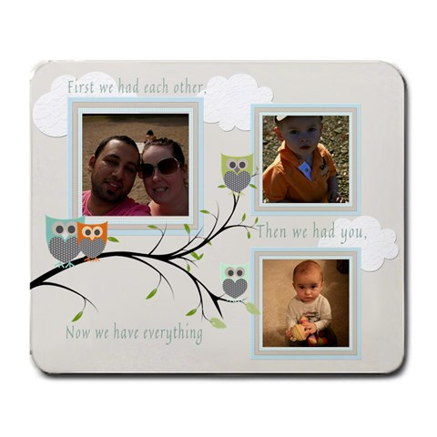 Family Large Mouse Pad By Chatting   Large Mousepad   Agmsqi8bjb2i   Www Artscow Com Front