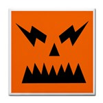 EBAYHALLOWANGRY JACKOLANTERN Tile Coaster
