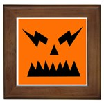 EBAYHALLOWANGRY JACKOLANTERN Framed Tile