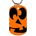 EBAYHALLOWCRAZYJack-o-Lanterns Dog Tag (One Side)