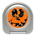 EBAYHALLOWCRAZYJack-o-Lanterns Travel Alarm Clock