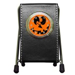 EBAYHALLOWCRAZYJack-o-Lanterns Pen Holder Desk Clock