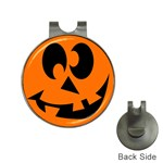 EBAYHALLOWCRAZYJack-o-Lanterns Golf Ball Marker Hat Clip