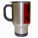 EBAYHALLOWCRAZYJack-o-Lanterns Travel Mug (Silver Gray)