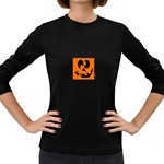 EBAYHALLOWCRAZYJack-o-Lanterns Women s Long Sleeve Dark T-Shirt