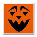EBAYHALLOWQUIRKY Jack-o-Lanterns Tile Coaster