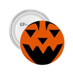 EBAYHALLOWQUIRKY Jack-o-Lanterns 2.25  Button