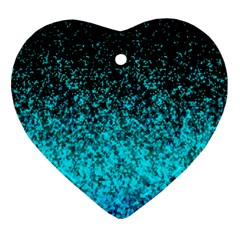 Glitter Dust 1 Heart Ornament by MedusArt