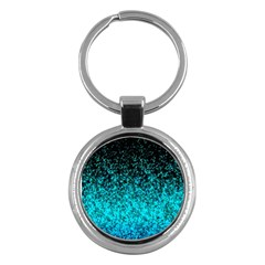 Glitter Dust 1 Key Chain (round) by MedusArt