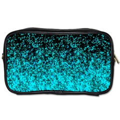 Glitter Dust 1 Travel Toiletry Bag (two Sides) by MedusArt