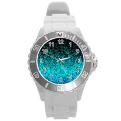 Glitter Dust 1 Plastic Sport Watch (large) by MedusArt
