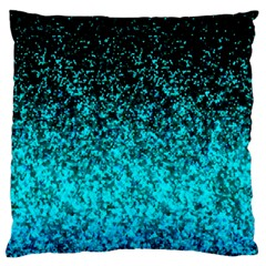 Glitter Dust 1 Large Cushion Case (single Sided)  by MedusArt